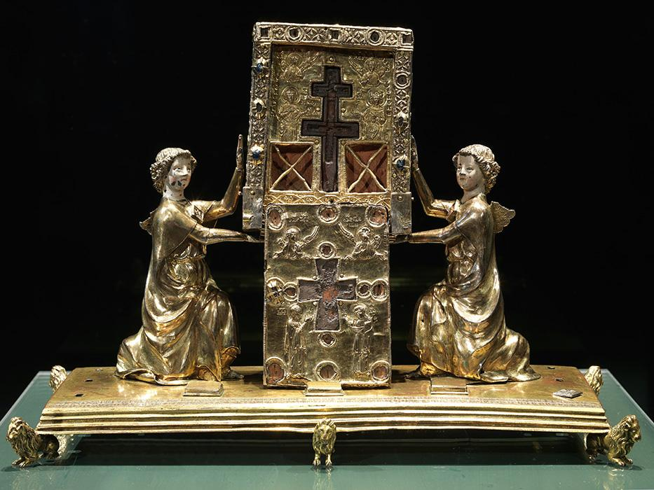 true cross reliquary louvre