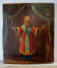 Russian icon - St. Nicholas of Mozhaisk