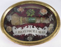Important reliquary with relic of Saint Benedicta (Benedetta) of Rome, Virgin Martyr