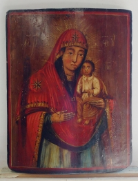 Russian Icon - Hodegetria Mother of God