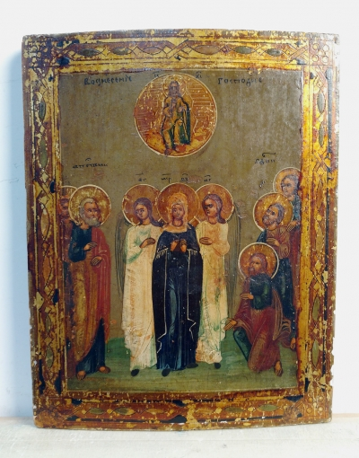 Russian Icon - The Ascension of Jesus