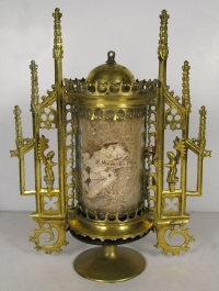 Important reliquary with large first-class relic of Saint Nicholas of Myra