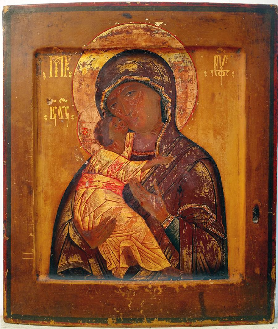 Russian Store - Russian Icon - Our Lady of Vladimir