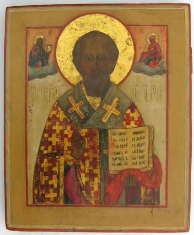 Russian Icon - Saint Nicholas the Miracleworker of Myra