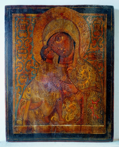 Russian Icon - Feodorovskaya Mother of God