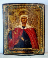 Russian Icon - Greatmartyr Saint Catherine of Alexandria