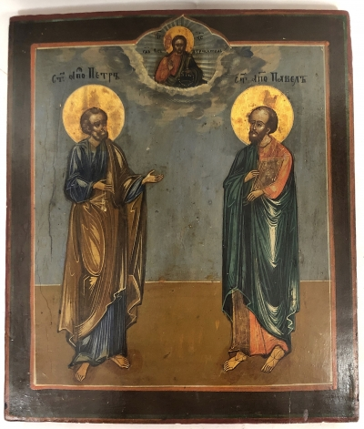 Russian Icon - Apostles Peter & Paul