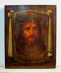Russian Icon - The Holy Mandylion - Image of Christ Not Made by Human Hands