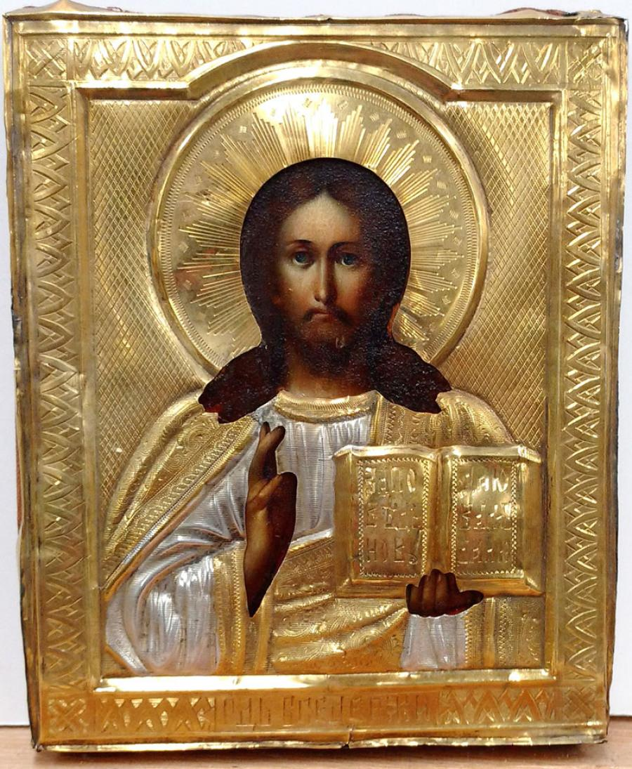 Russian Store - Russian Icon - Christ Pantocrator in