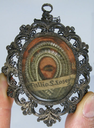 Large reliquary theca with relic of St Joseph, husband of the Blessed Virgin Mary
