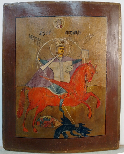 Russian Icon - St. Michael the Archangel, the Chief Commander of the Heavenly Host