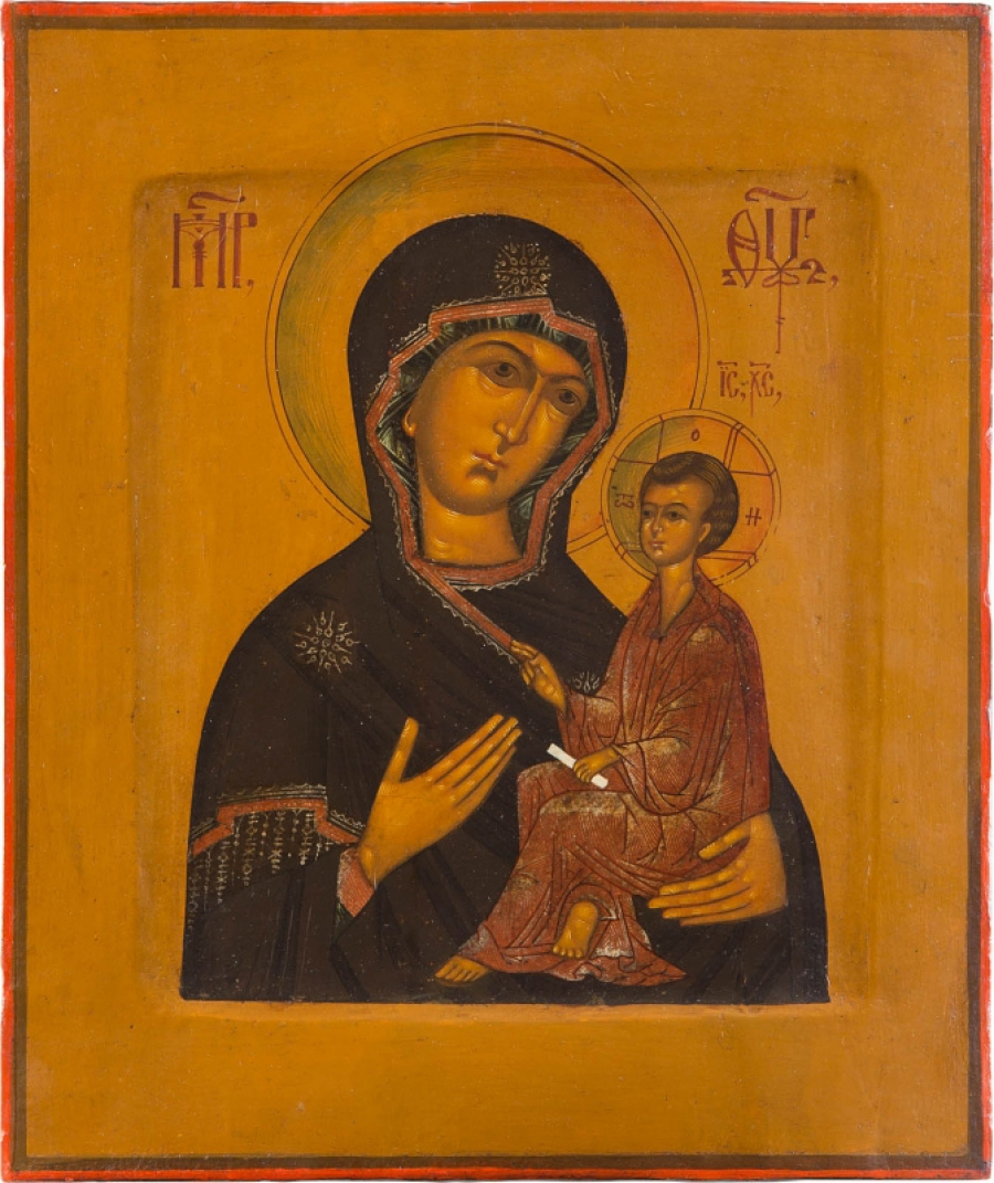 Russian Store - Russian Icon - Our Lady of Tikhvin