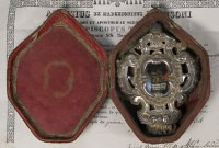 Important documented theca with first class ex ossibus relic of Saint Alexander Sauli
