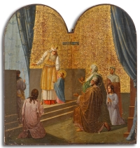 Russian Church Icon - Presentation of the Virgin in the Temple