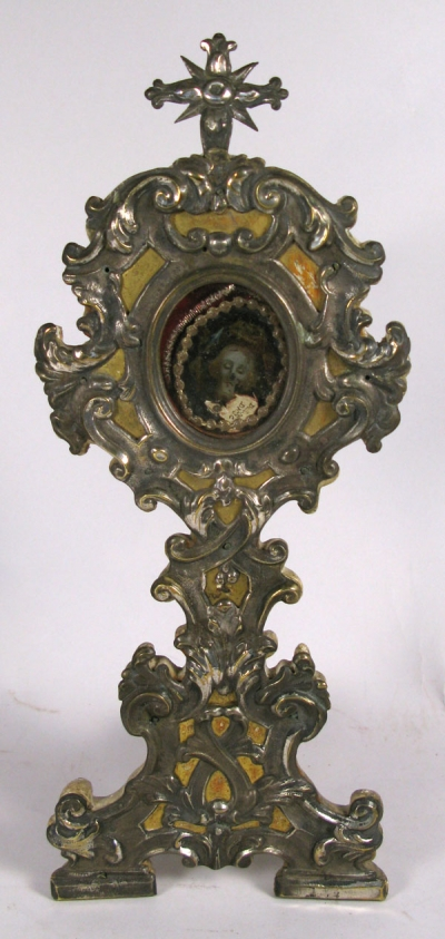 Reliquary Monstrance with relic from the Precious Blood of Jesus Christ