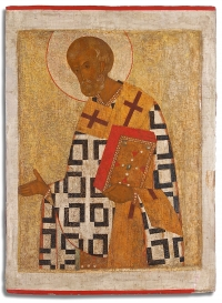 16c Russian Icon - St. Nicholas the Wonderworker of Myra from Iconostasis