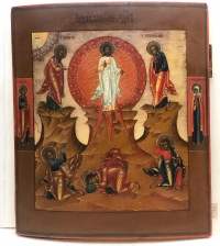 Russian Icon - the Transfiguration of Christ