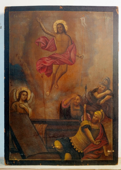 Russian Icon - The Resurrection of Christ