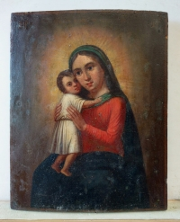 Russian Icon - Seeker of the Lost Mother of God