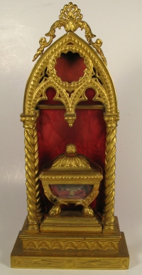 Reliquary monstrance with large relic of Saint George, Martyr of Lydda