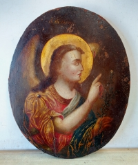 Russian icon - the Archangel Gabriel from the Annunciation