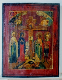 Russian Icon - The Crucifixion