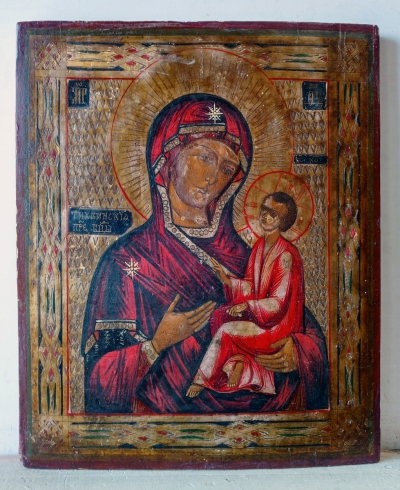 Russian Icon - Our Lady of Tikhvin