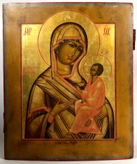 Fine Russian Icon - Our Lady of Tikhvin