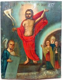 Russian Icon - The Resurrection of Jesus Christ