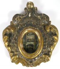 Reliquary with relics of St. Christopher, St. Bacchus, St. Reparata & Other Saints